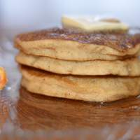 Pumpkin Pancakes (Gluten Free) Recipe