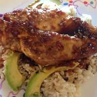 Raspberry-Glazed Rosemary Chicken Recipe