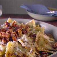 Ravioli with Balsamic Brown Butter Recipe