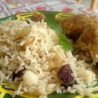 Rice With Caramelized Onions and Cranberries Recipe