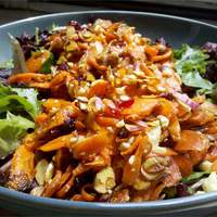 Roasted Carrot Salad Recipe