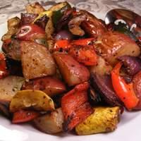Roasted Mediterranean Vegetables Recipe