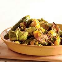 Roasted Summer Squashes with Caper Gremolata Recipe