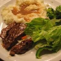 Round Steak and Gravy II Recipe