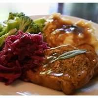 Sage Pork Chops Recipe