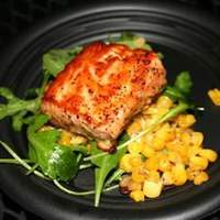 Salmon with Pecan Honey Glaze Recipe