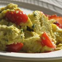 Scrambled Eggs With Fines Herbes and Tomatoes Recipe