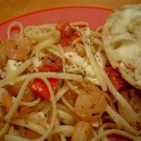 Shrimp and Feta Cheese Pasta Recipe