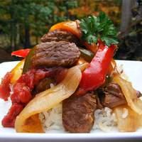 Slow-Cooker Pepper Steak Recipe
