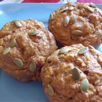 Spiced Pumpkin Molasses Muffins Recipe