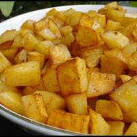 Spicy Hash Browns - Homemade Recipe
