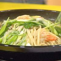 Spicy Shrimp and Bok Choy Noodle Bowl Recipe