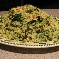 Spinach and Onion Couscous Recipe