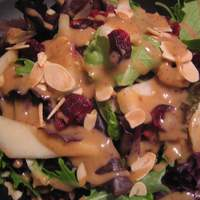 Spinach Salad With Pears, Almonds and Cranberries Ww 4 Pts Recipe