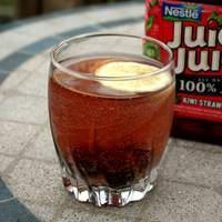 Strawberry-Kiwi Soda (All Natural) Recipe