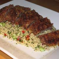 Sumac Oregano Crusted Lamb Fillet Recipe