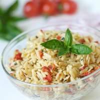 Sun-Dried Tomato Basil Orzo Recipe
