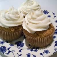Sunrabbit's Vegan Pumpkin Cupcakes With Vegan Cream Cheese Icing Recipe