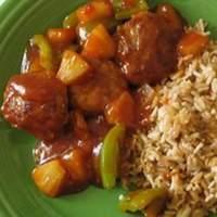 Sweet and Sour Pork Patties Recipe