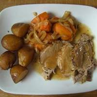 Tangy Slow Cooker Pork Roast Recipe