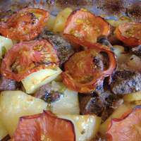 Tave (Cypriot Baked Lamb and Potatoes With Cumin and Tomatoes) Recipe