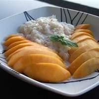 Thai Sweet Sticky Rice With Mango (Khao Neeo Mamuang) Recipe