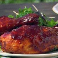 The Deen Brothers' BBQ Chicken Recipe
