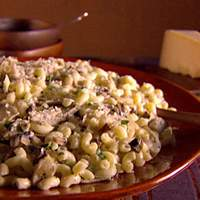 Thimbles with Mushrooms and Artichokes Recipe