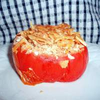 Toe and Don's Cheese & Cracker Stuffed Tomatoes Recipe