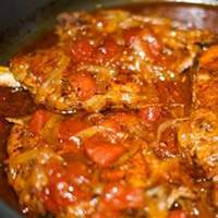 Tomato Pork Loin Chops Recipe