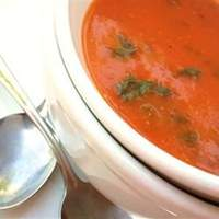 Tomato Spinach and Basil Soup Recipe