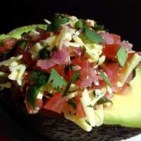 Tomato-stuffed Avocados Recipe