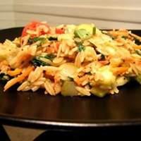 Vegetarian Lime Orzo Recipe