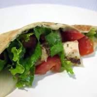 Warm Greek Pita Sandwiches With Turkey and Cucumber-Yogurt Sauce Recipe