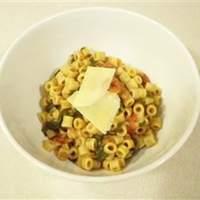 Wendy's Quick Pasta and Lentils Recipe