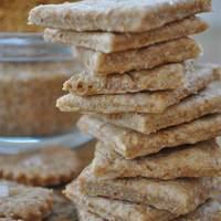 Wheat Crackers Recipe