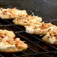 White Chocolate-Coconut Cookies Recipe