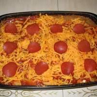 Ziti Pepperoni Casserole Recipe