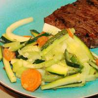 Zucchini and Carrots With Fresh Herbs Recipe