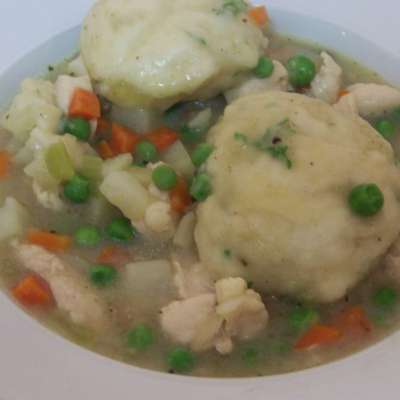 30 Minute Chicken and Dumplings - RecipeNode.com