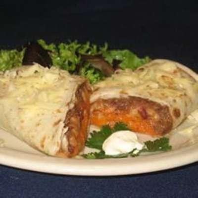 Addictive Sweet Potato Burritos - RecipeNode.com