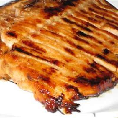 Alaskan BBQ Salmon - RecipeNode.com