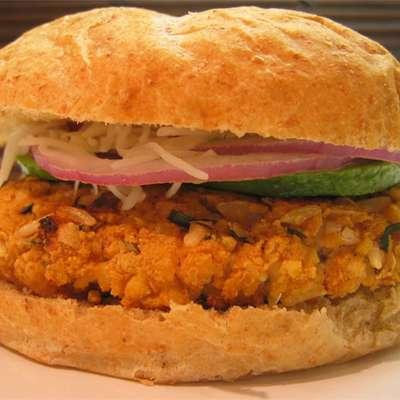 All-Star Veggie Burger - RecipeNode.com