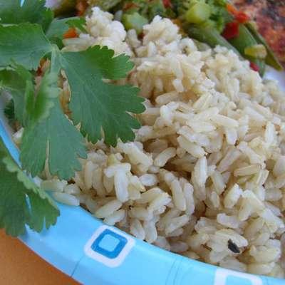 Alton Brown's Baked Brown Rice - RecipeNode.com