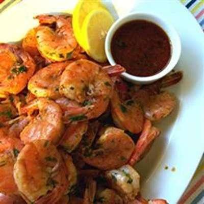 Amazing Spicy Grilled Shrimp - RecipeNode.com