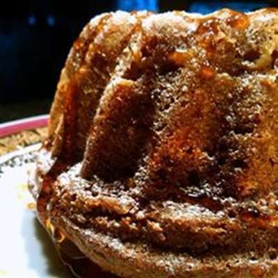 Apple Honey Bundt Cake - RecipeNode.com