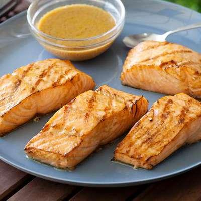 Asian Grilled Salmon - RecipeNode.com