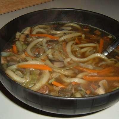 Asian Mushroom Soup - RecipeNode.com