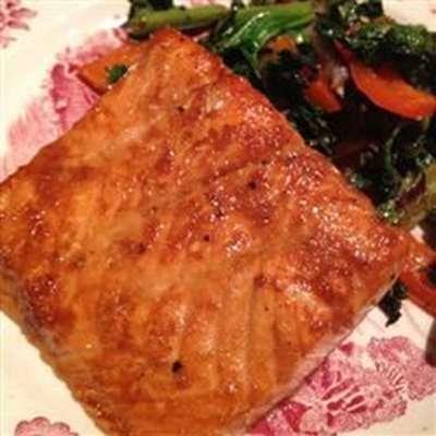 Asian Salmon - RecipeNode.com