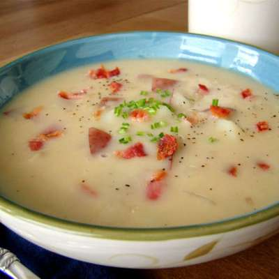 Bacon and Potato Chowder - RecipeNode.com